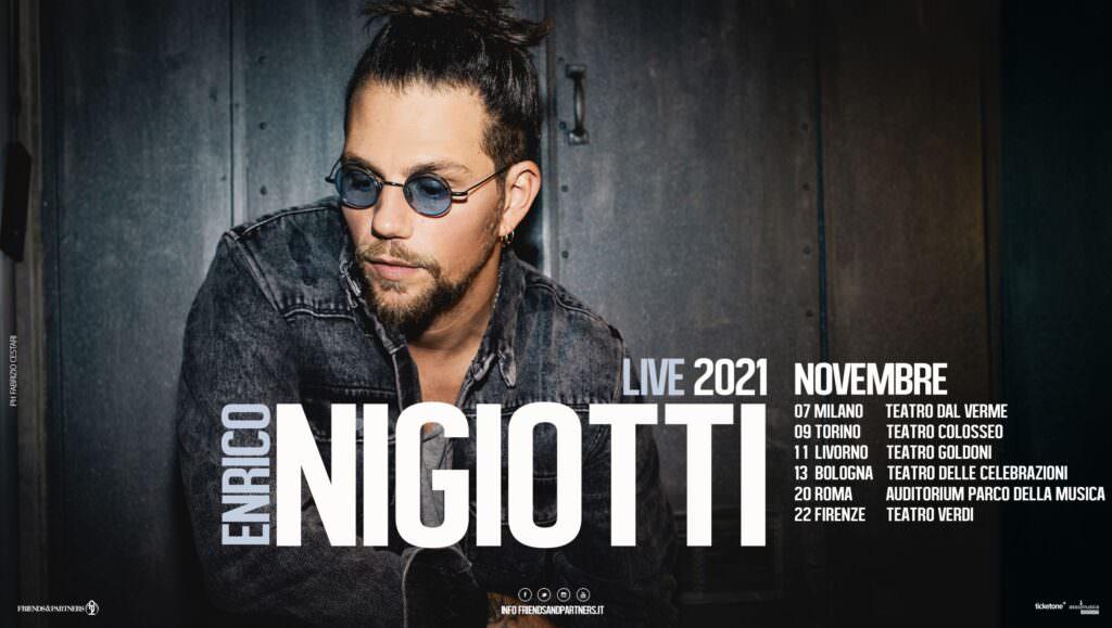 Enrico Nigiotti locandina tour novembre 2021 b